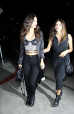 VICTORIA JUSTICE and MADISON REED Arrives at Christina Milian