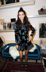 VICTORIA JUSTICE at Rebecca Minkoff Fashion Show at NYFW in New York 09/09/2017