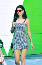 VICTORIA JUSTICE on the Set of a Photoshoot in Studio City 08/30/2017