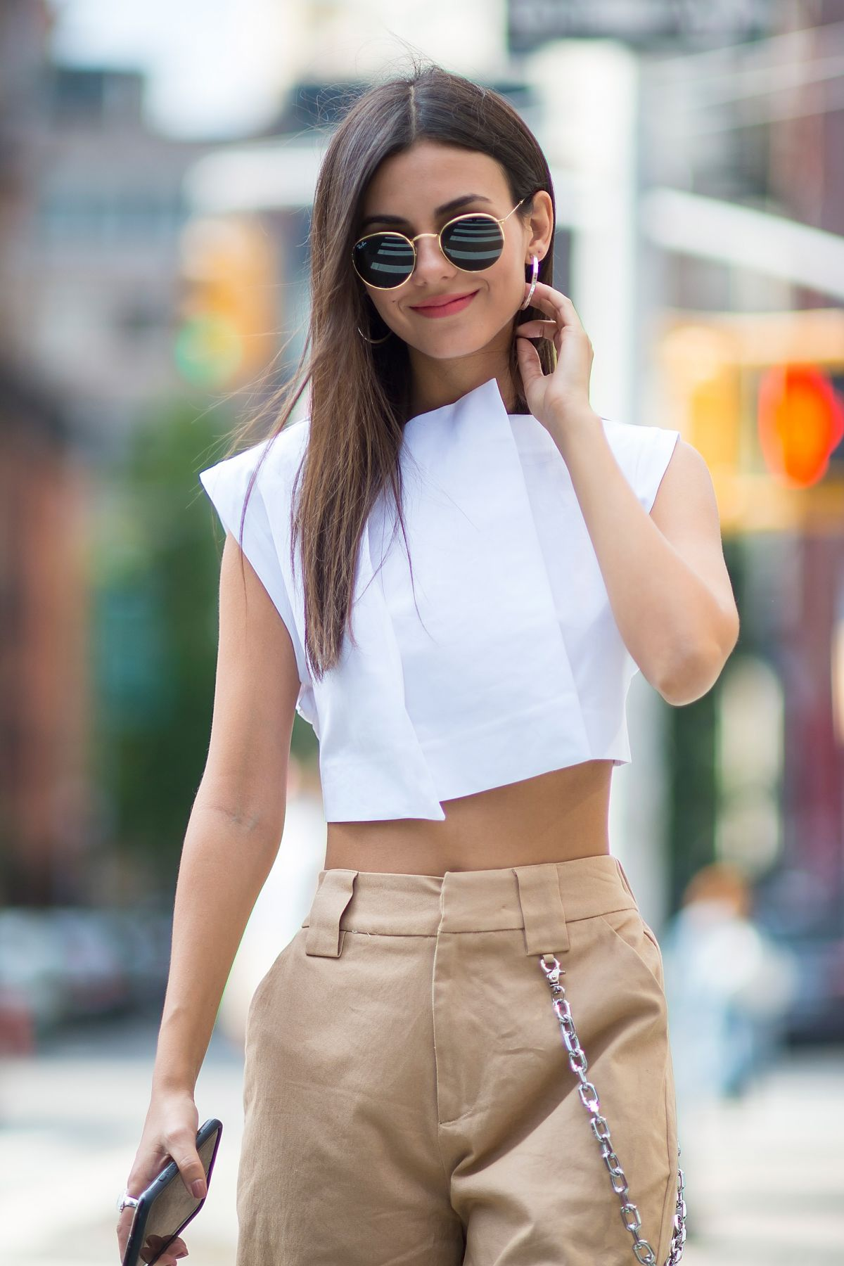 VICTORIA JUSTICE Out and About in New York 09/14/2017