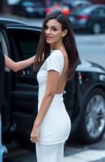 VICTORIA JUSTICE Out in New York 09/06/2017