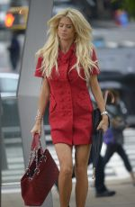 VICTORIA SILVSTEDT Out and About in New York 09/06/2017