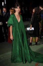 VITTORIA PUCCINI at Green Carpet Fashion Awards in Milan 09/24/2017