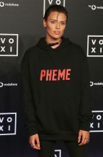 WALLIS DAY at Voxi Launch Party in London 08/31/2017