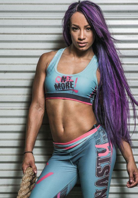 WWE - SASHA BANKS by Blake Cortes