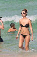 YANA DUBNIK in Bikini at a Beach in Miami 09/18/2017