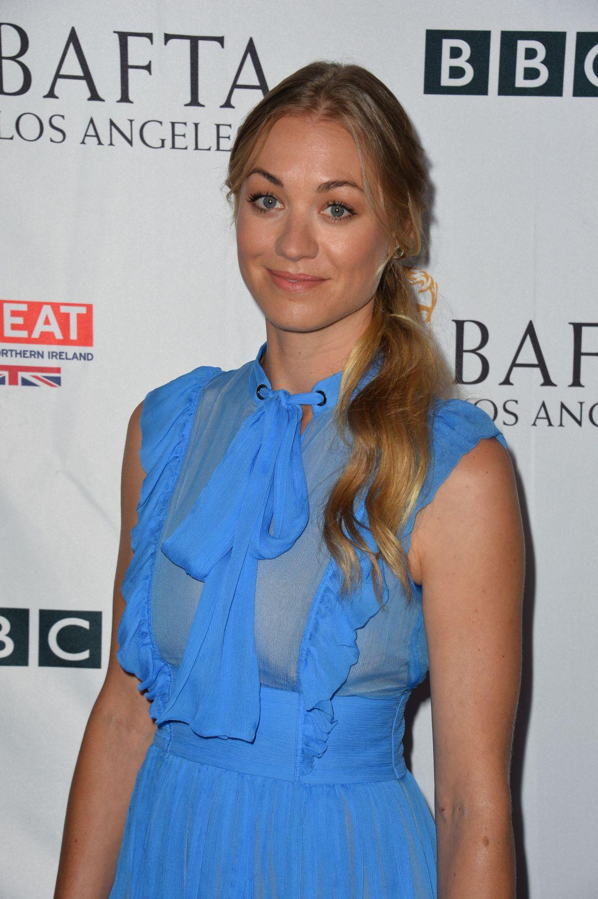 YVONNE STRAHOVSKI at BBC America Bafta Los Angeles TV Tea Party 09/16/2017