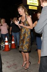 YVONNE STRAHOVSKI Leaves Gracias Madre in West Hollywood 09/15/2017