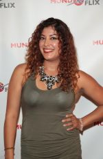 ZAMARA JIMENEZ at MundoFlix Launch Party in Studio City 08/28/2017
