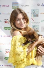 ZARA HOLLAND at Pupaid 2017 in London 09/02/2017