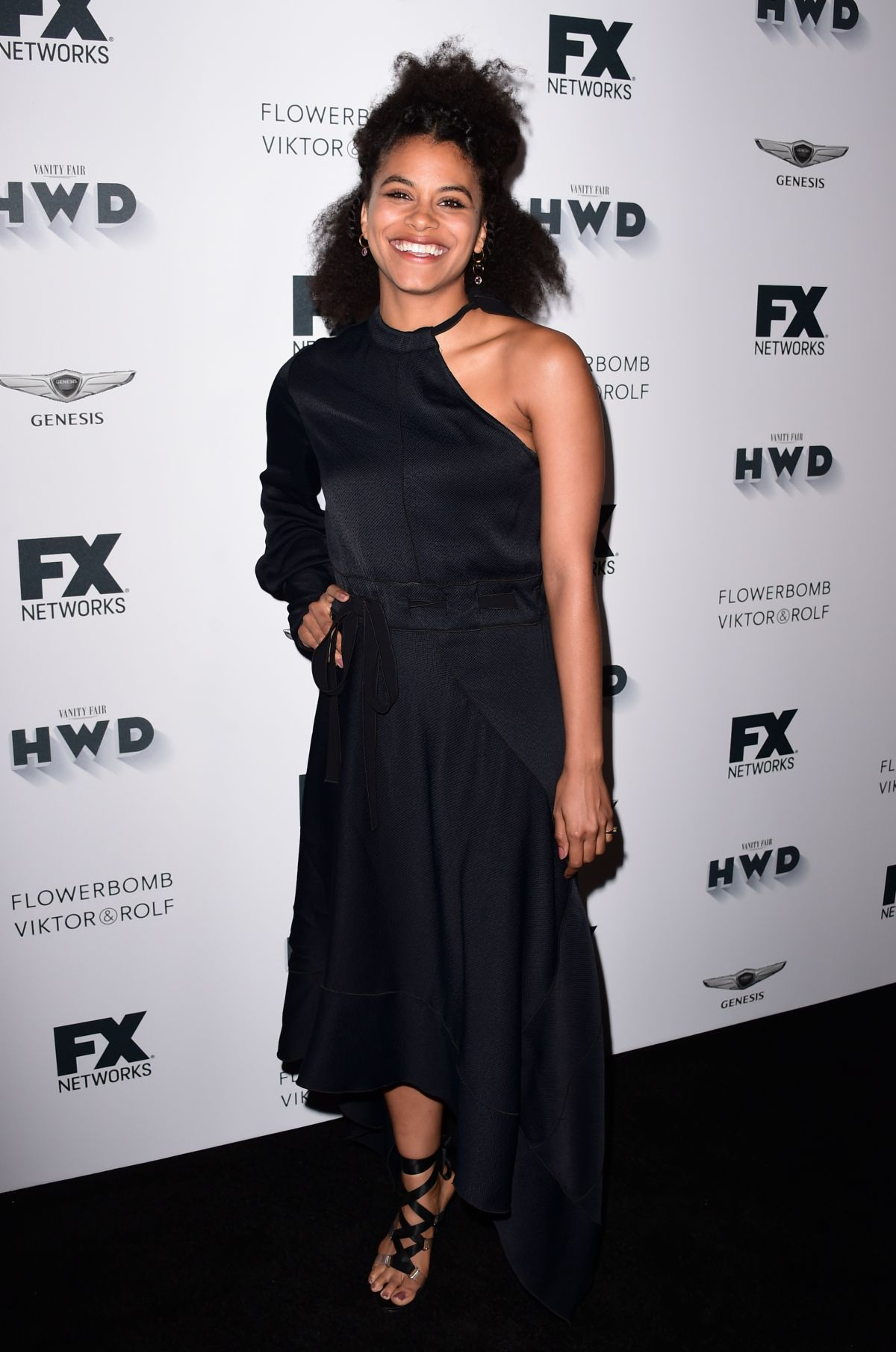 ZAZIE BEETZ at FX and Vanity Fair Emmy Celebration in Century City 09/16/2017