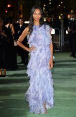 ZOE SALDANA at Green Carpet Fashion Awards in Milan 09/24/2017