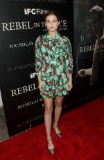 ZOEY DEUTCH at Rebel in the Rye Premiere in New York 09/06/2017