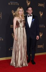 ZOSIA MAMET at Creative Arts Emmy Awards in Los Angeles 09/10/2017