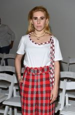 ZOSIA MAMET at Oscar De La Renta Fashion Show at NYFW in New York 09/11/2017