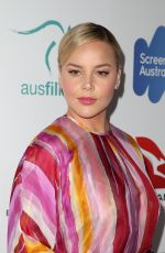 ABBIE CORNISH at 6th Annual Australians in Film Award and Benefit Dinner in Los Angeles 10/18/2017