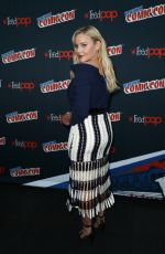 ABBIE CORNISH at Tom Clancys Jack Ryan Panel at New York Comic-con 10/07/2017