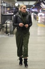 ABBIE CORNISH Out and About in Los Angeles 10/08/2017