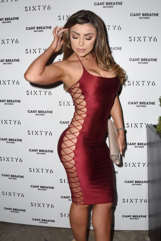 ABIGAIL CLARKE at Sixty6 Magazine Launch Party in London 10/12/2017