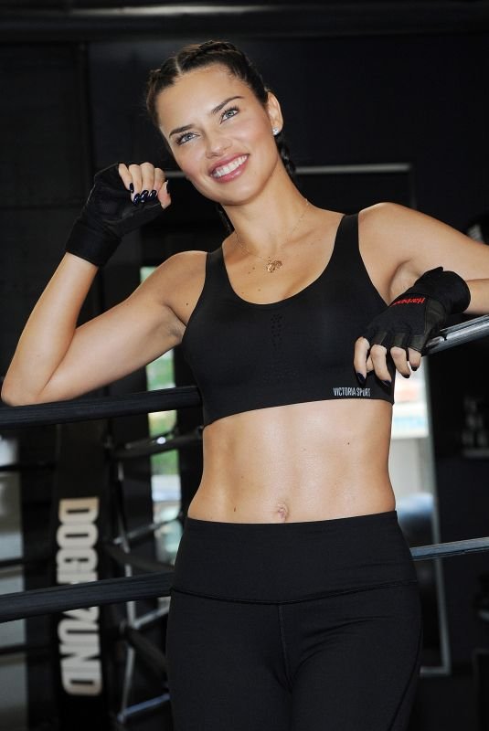 ADRIANA LIMA at Train Like a Victoria
