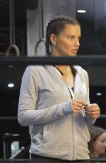 ADRIANA LIMA Leaves a Gym in New York 10/03/2017