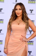 ADRIENNE BAILON at 2017 Latin American Music Awards in Hollywood 10/26/2017