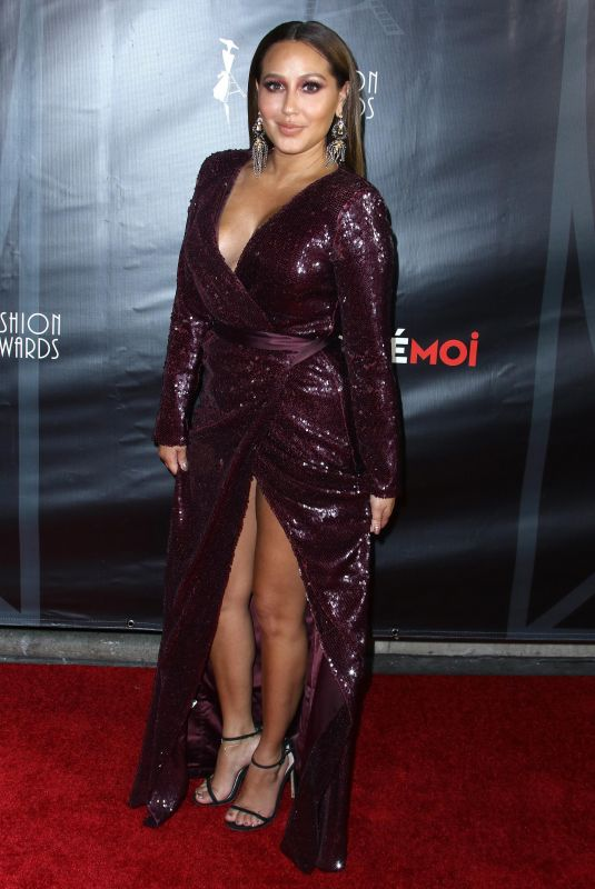 ADRIENNE BAILON at 4th Annual Cinefashion Film Awards in Los Angeles 10/08/2017
