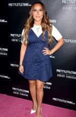 ADRIENNE BAILON at Prettylittlething by Kourtney Kardashian Launch in Los Angeles 10/25/201