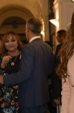 ADUA DEL VESCO at Odio Mmleto Theatre Premiere in Rome 10/04/2017