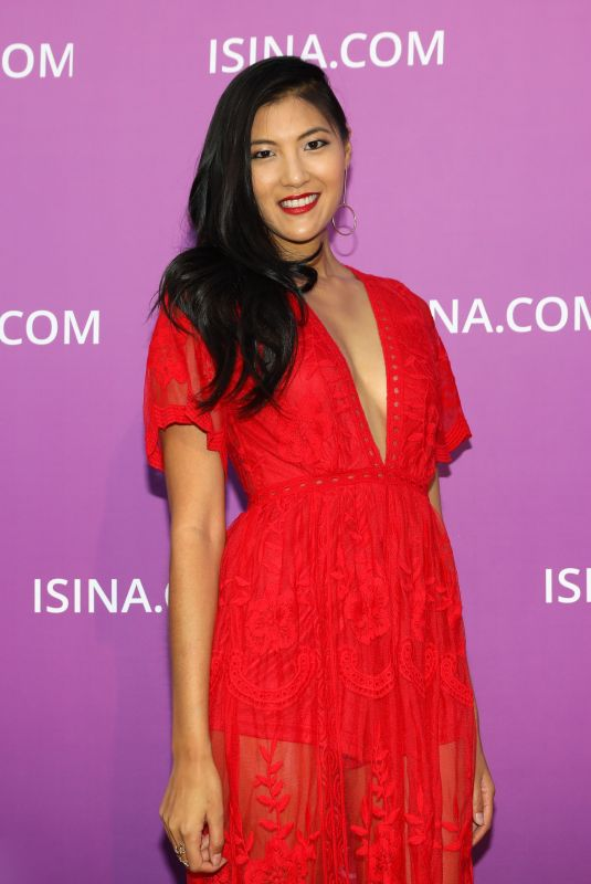 AKEMI LOOK at Isina Global Gala in Los Angeles 10/10/2017