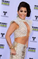 ALEJANDRA GUZMAN at 2017 Latin American Music Awards in Hollywood 10/26/2017