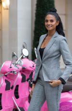 ALESHA DIXON as Ambassador of Debenhams Beauty Club in London 10/24/2017
