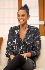 ALESHA DIXON at Good Morning Britain Show in London 10/27/2017