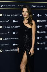 ALESSANDRA AMBROSIO at Dyson Premiere at 13th Zurich Film Festival 09/30/2017