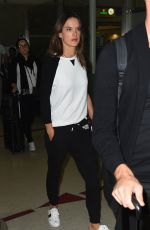 ALESSANDRA AMBROSIO at Los Angeles International Airport 10/24/2017