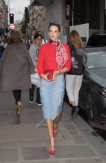 ALESSANDRA AMBROSIO at Messika Store in Paris 10/02/2017