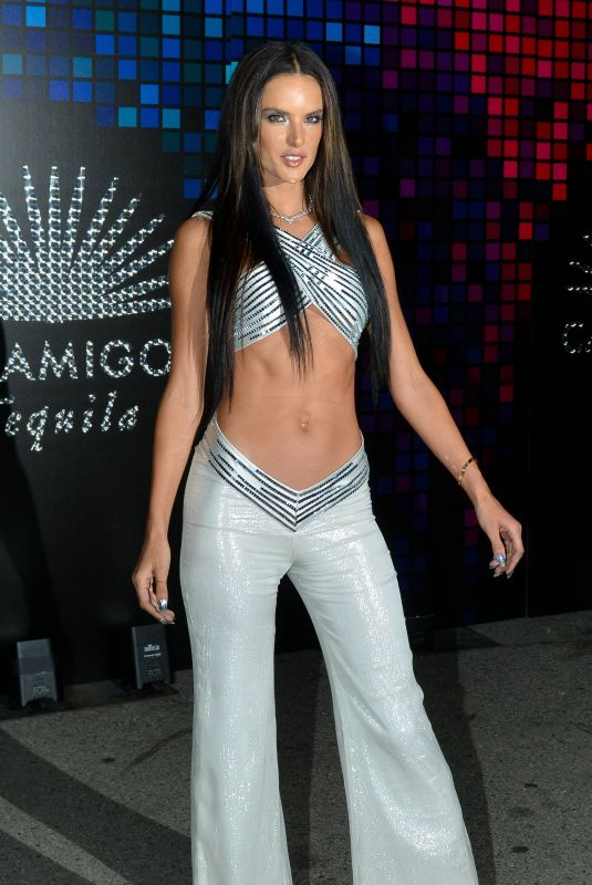 ALESSANDRA AMBROSIO at Tequila Casamigos Halloween Bash in Los Angeles 10/27/2017
