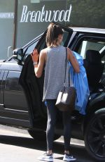 ALESSANDRA AMBROSIO Out and About in Brentwood 10/09/2017