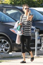 ALESSANDRA AMBROSIO Out and About in Los Angeles 10/07/2017