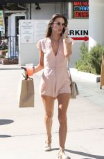 ALESSANDRA AMBROSIO Out and About in Los Angeles 10/23/2017