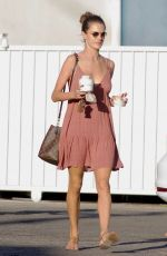 ALESSANDRA AMBROSIO Out Shopping for Halloween in Los Angeles 10/26/2017