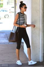 ALESSANDRA AMBROSIO Out Shopping in Brentwood 05/10/2017