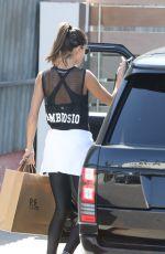 ALESSANDRA AMBROSIO Out Shopping in Malibu 10/04/2017