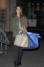 ALEX JONES Leaves BBC Studios in London 10/20/2017