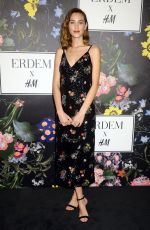 ALEXA CHUNG at H&M x Erdem Runway Show & Party in Los Angeles 10/18/2017