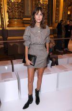 ALEXA CHUNG at Stella McCartney Fashion Show at Paris Fashion Week 10/01/2017