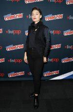 ALEXA DAVALOS at Electric Dreams Panel at New York Comic-con 10/06/2017