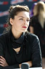 ALEXA DAVALOS at Electric Dreams Panel at New York Comic-con 10/06/2017