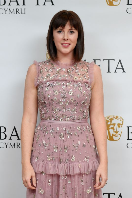 ALEXANDRA ROACH at British Academy Cymru Awards in Cardiff 10/08/2017