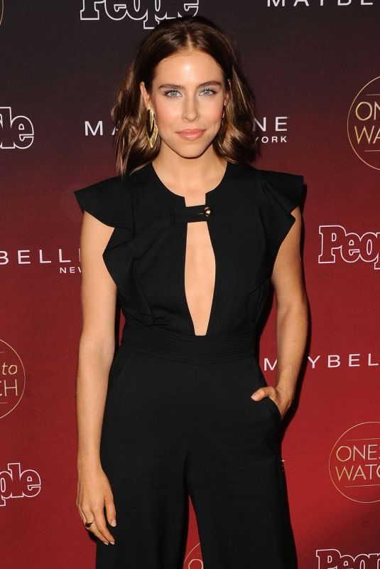 ALEXANDRA TURSHEN at People's Ones to Watch Party in Los Angeles 10/04/2017